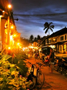 Beautiful Luang Prabang at dusk!