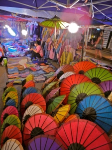 Luang Prabang night markets.