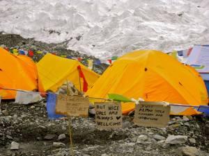 Expediton tents!