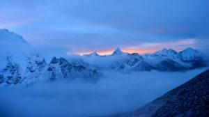 Himalayan ranges at sunrise!