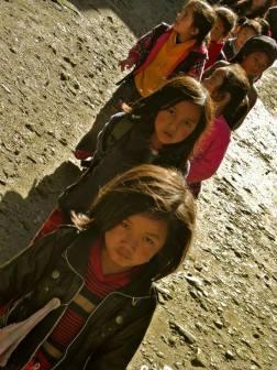 Kids in Nepal.