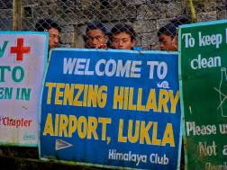 Arrival into Lukla, the scariest airport in the world.