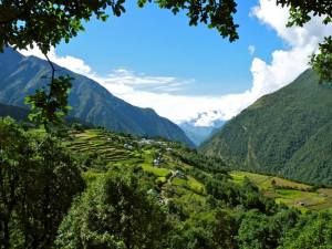 Lukla, Valley
