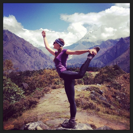 Yoga in the Himalayas