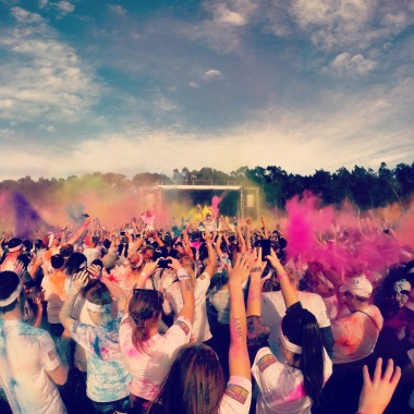Color Run Finale!