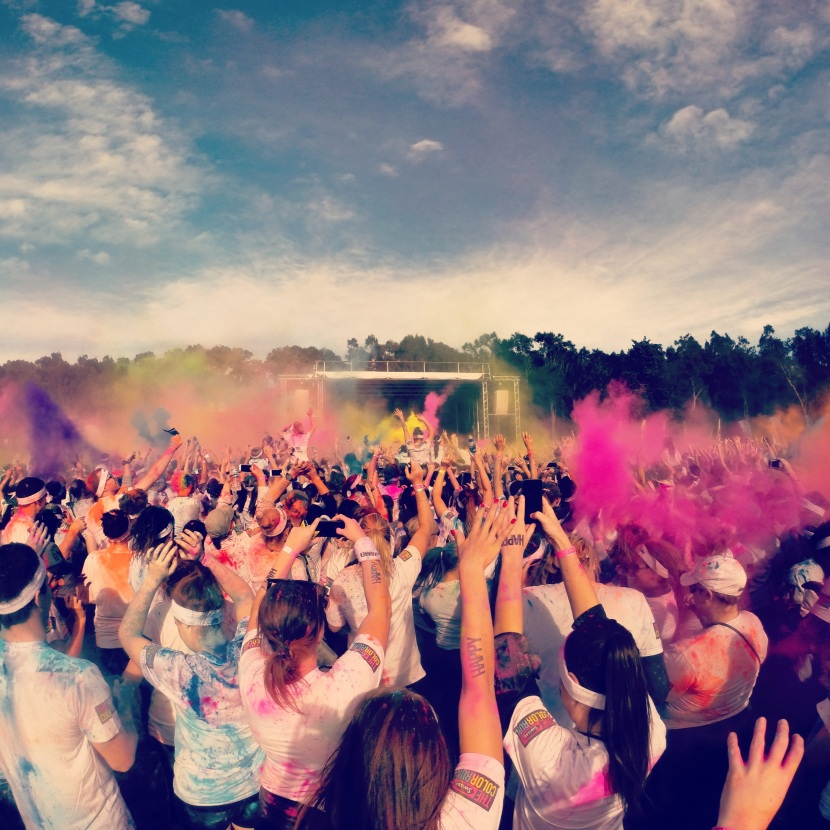 Live it up till it's gone! (The Swisse Color Run, Bucket list moment)