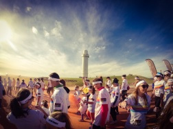 The Orange zone, and the Wollongong light house