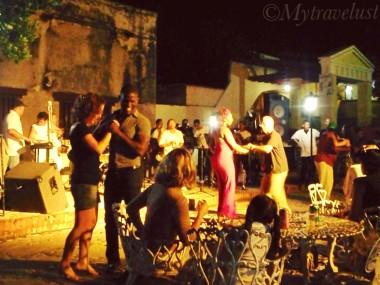 Street dancing Trinidad