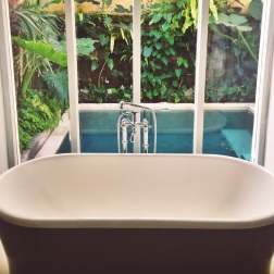 Bathtub + Plunge pool heaven at Uma by Como, Ubud!