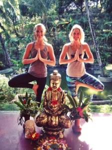 Bali yoga alana and i