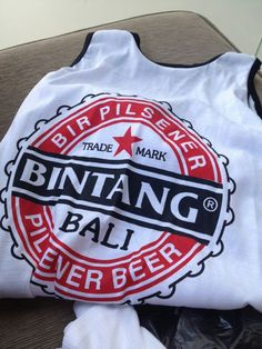 Bintang singlets.. Balis unofficial unifrom?