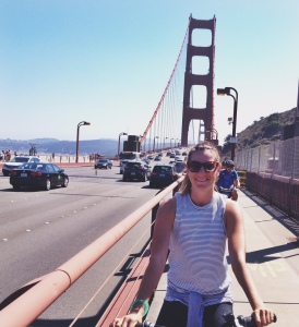 GG bridge bike