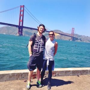 GG bridge Scott & I