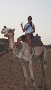 egypt camel riding
