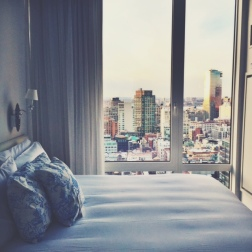 Rooms with a view! (Tip: Ask for a high floor)