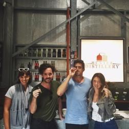 Hunter wine tasting distillary