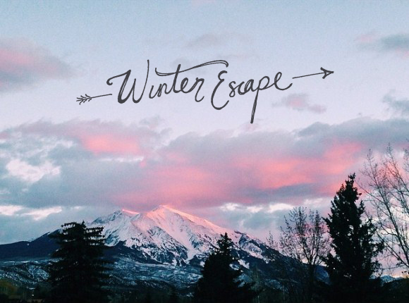 Winter escape ideas to keep the soul warm and your feet moving!