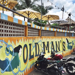 Old Man's Beach bar/restaurant