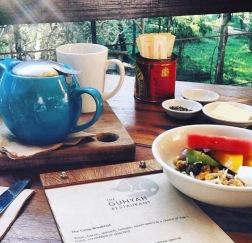 Paperbark camp breakfast