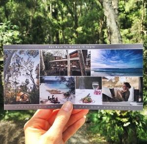 paperbark camp postcard